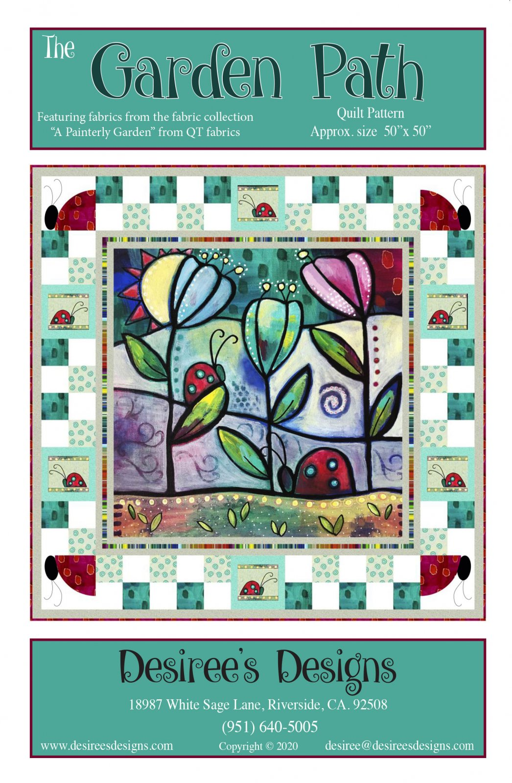 A Garden Path Quilt Pattern