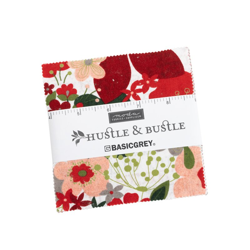 Hustle and Bustle - Charm Pack