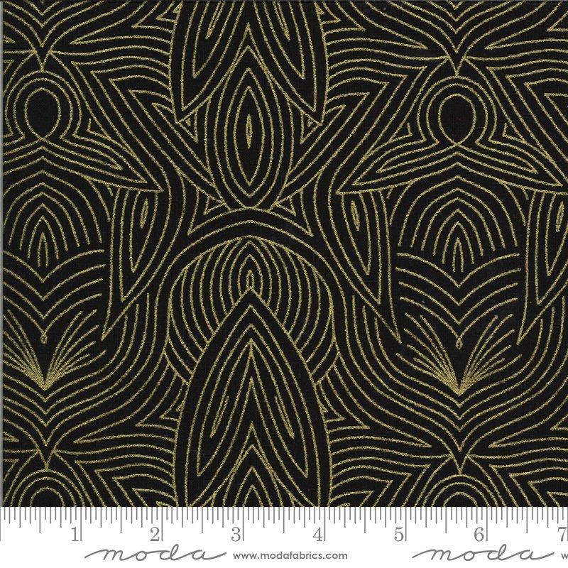 Dwell Possibility - Black, Gold Maze