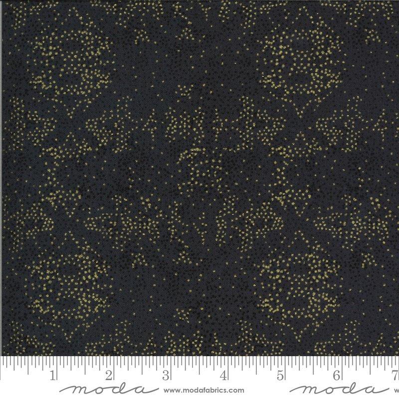 Dwell Possibility - Black, Gold Splatter