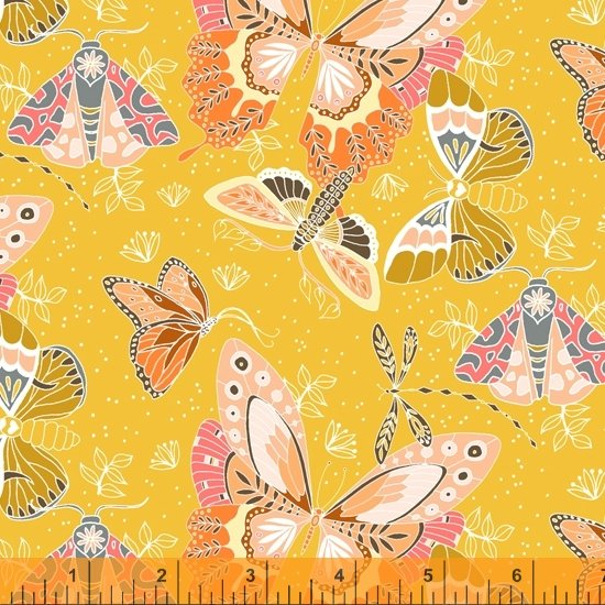 Aerial Flock - Yellow