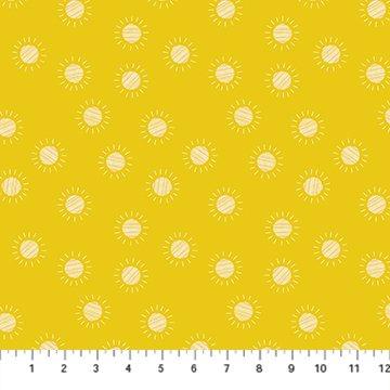 Prickly Pear Sun - Yellow Dawn