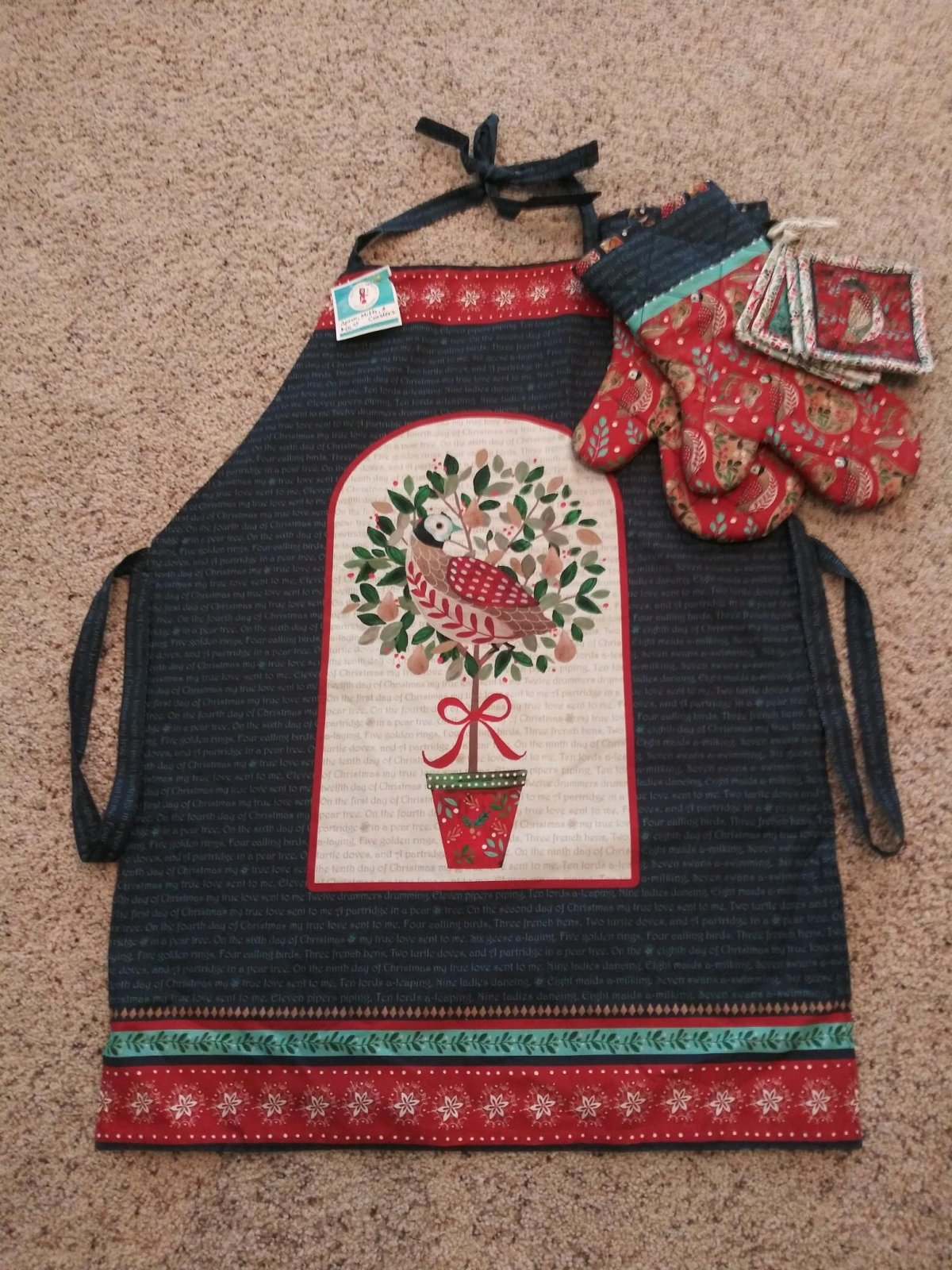 12 Days of Christmas - Apron and More