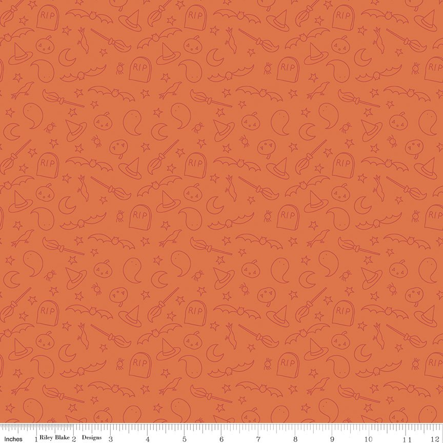 Spooky Hollow - Icons Orange