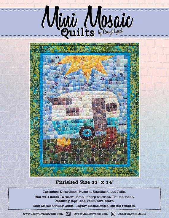 Mosaic Camper Pattern - mini
