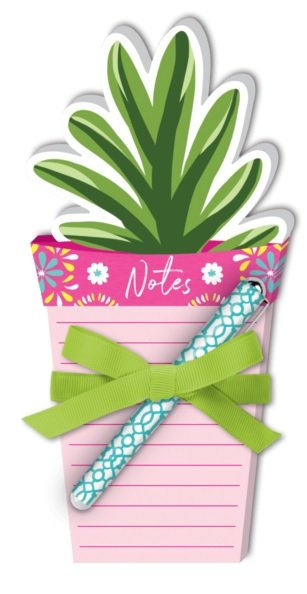 Cantina Potted Plant Notepad and Pen- Lady Jayne