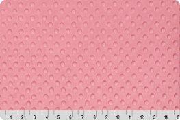 Dimple Minky - Bubblegum Pink