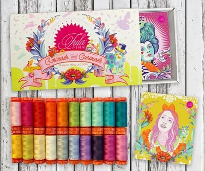 Tula PInk Curiouser and Curiouser Thread Collection