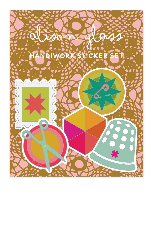Alison Glass Handiwork Sticker Set