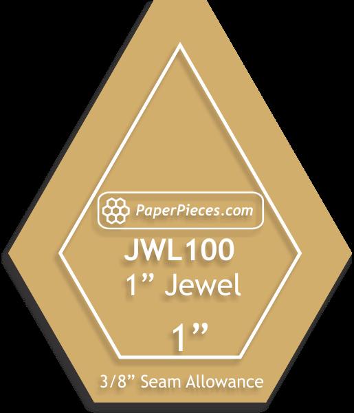 1 Jewel Template, 3/8