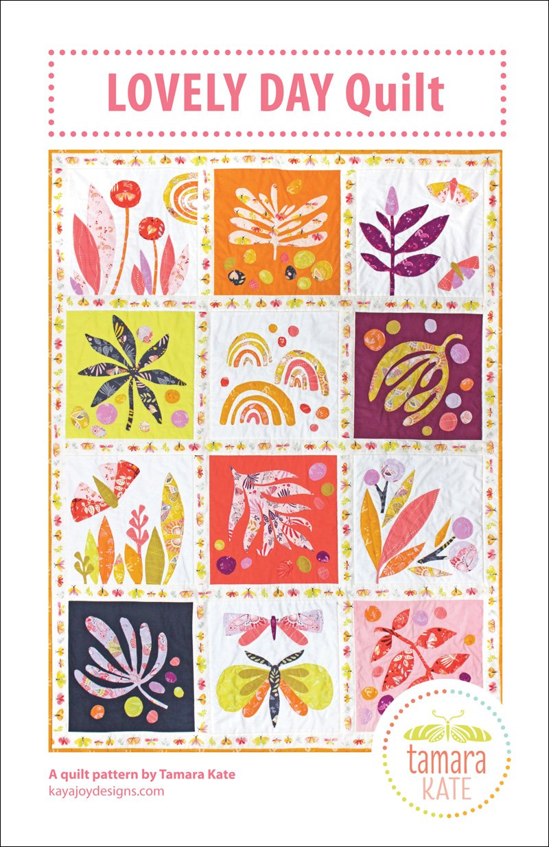 Lovely Day Quilt Kit featuring Aerial by Tamara Kate