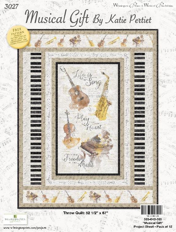 Musical Gift Quilt Kit