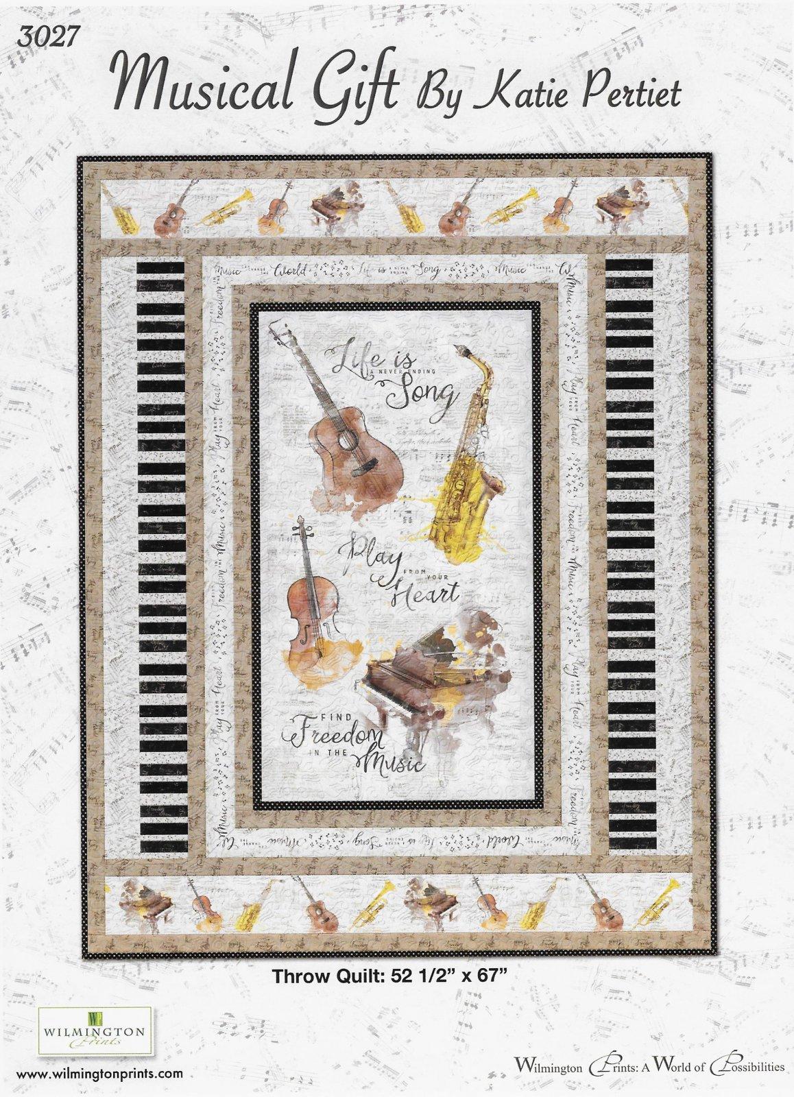 Free Pattern - Musical Gift