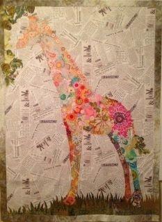 Potpourri Giraffe pattern by Laura Heine