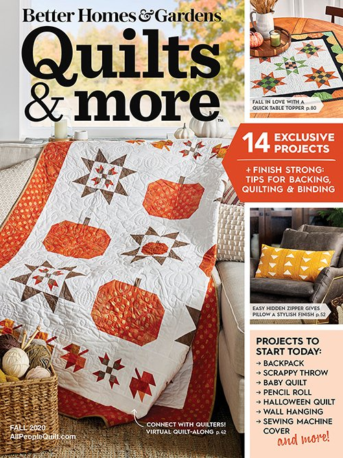 Quilts and More Fall 2020