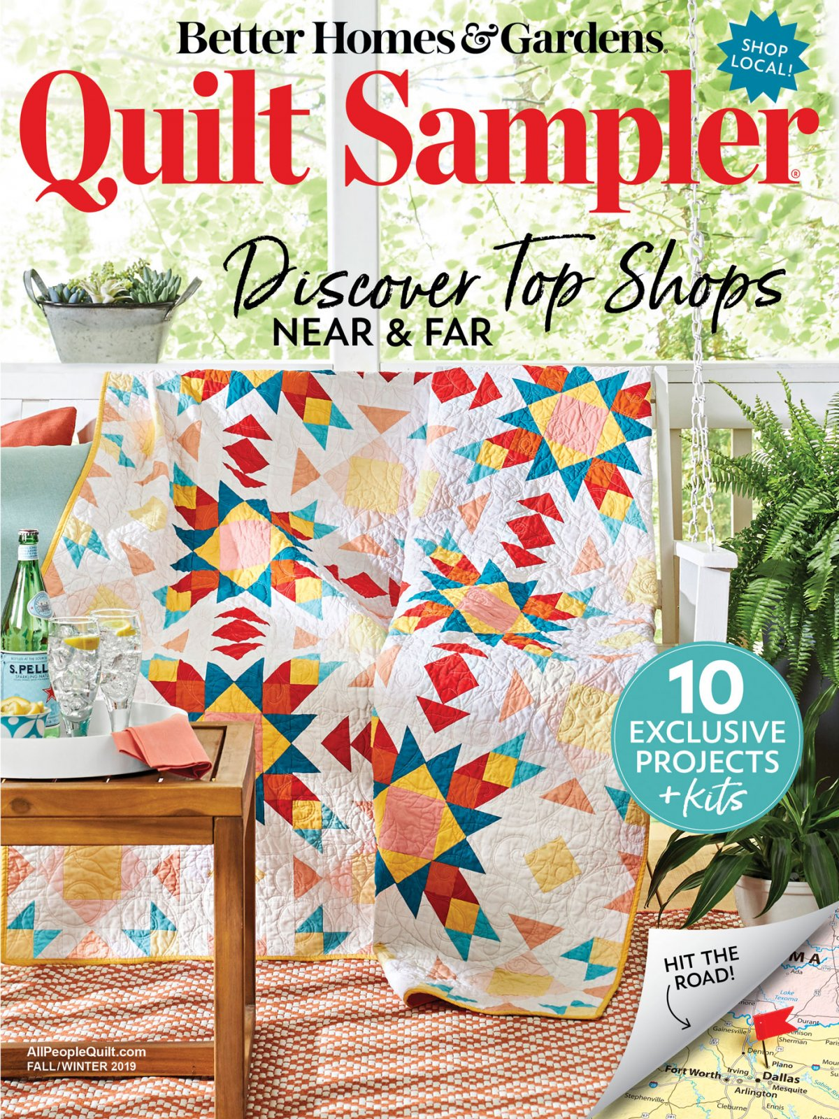 Quilt Sampler Magazine - Fall 2019