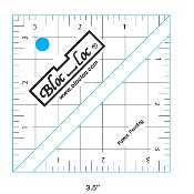 Bloc Loc Half Square Triangle Ruler 3.5