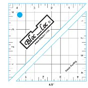 Bloc Loc Half Square Triangle Ruler 4.5