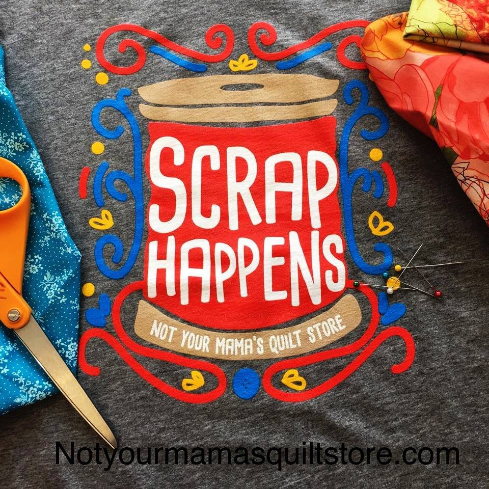 tshirt Scrap Happens Large