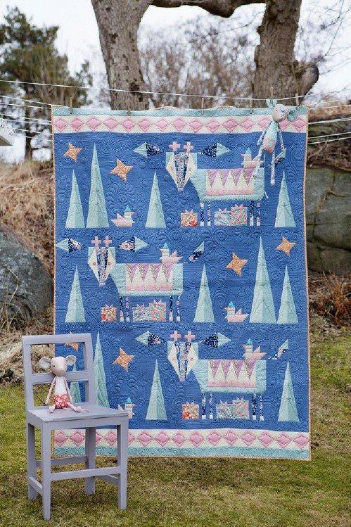 Winter Quilt Pattern by Tilda
