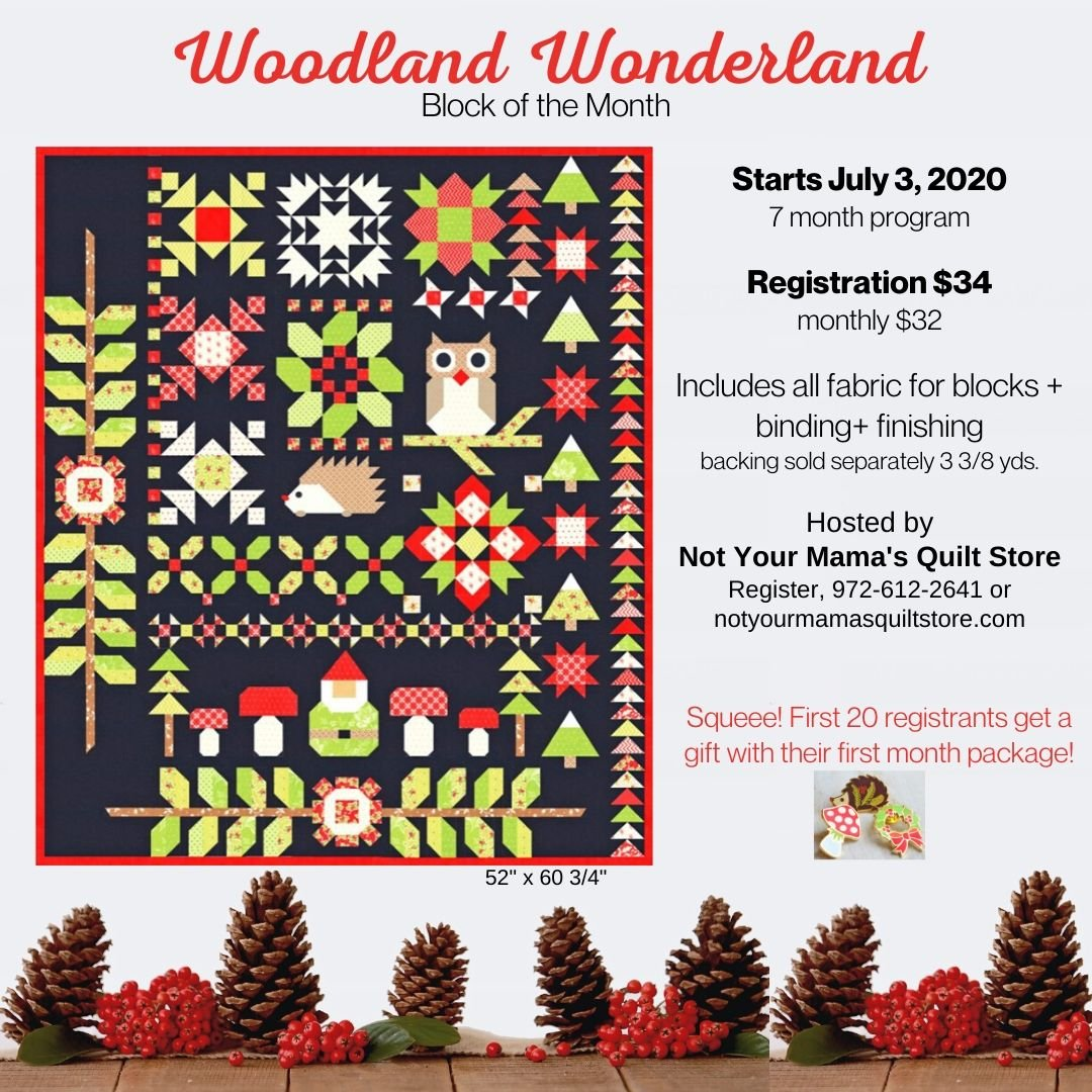 Woodland Wonderland Registration only