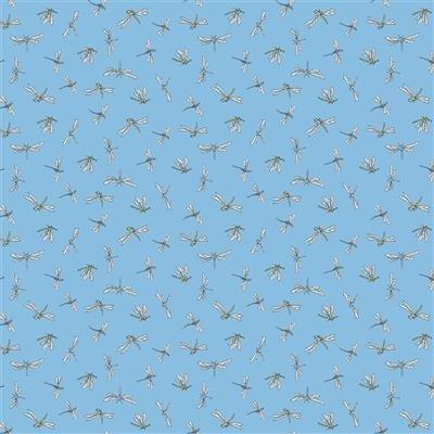 Leap Frog - Denim Dragonflies