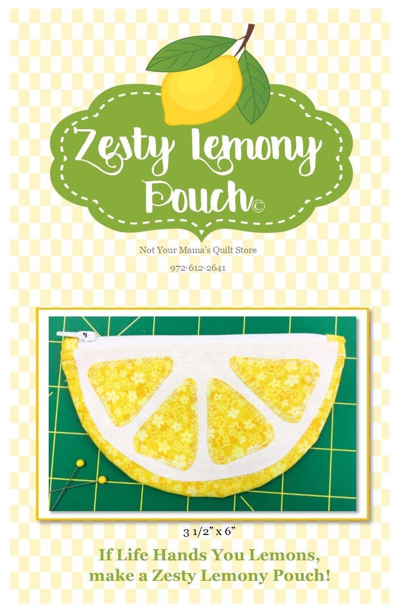 Zesty Lemony Pouch