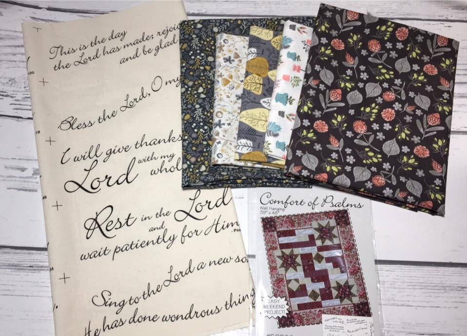 Comfort of Psalms Quilt Kit
