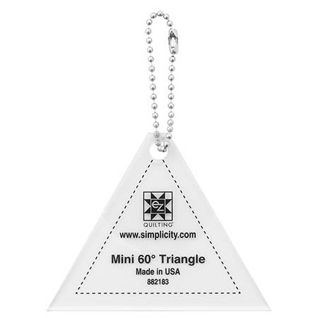 Mini 60 Degree Triangle
