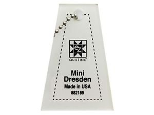 Mini Dresden Plate Ruler