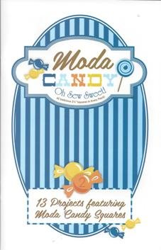Moda Candy Pattern Book- blue