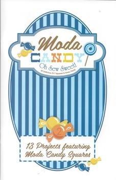 Moda Candy Pattern Book- blue