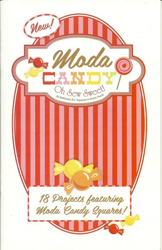 Moda Candy Pattern Book- red