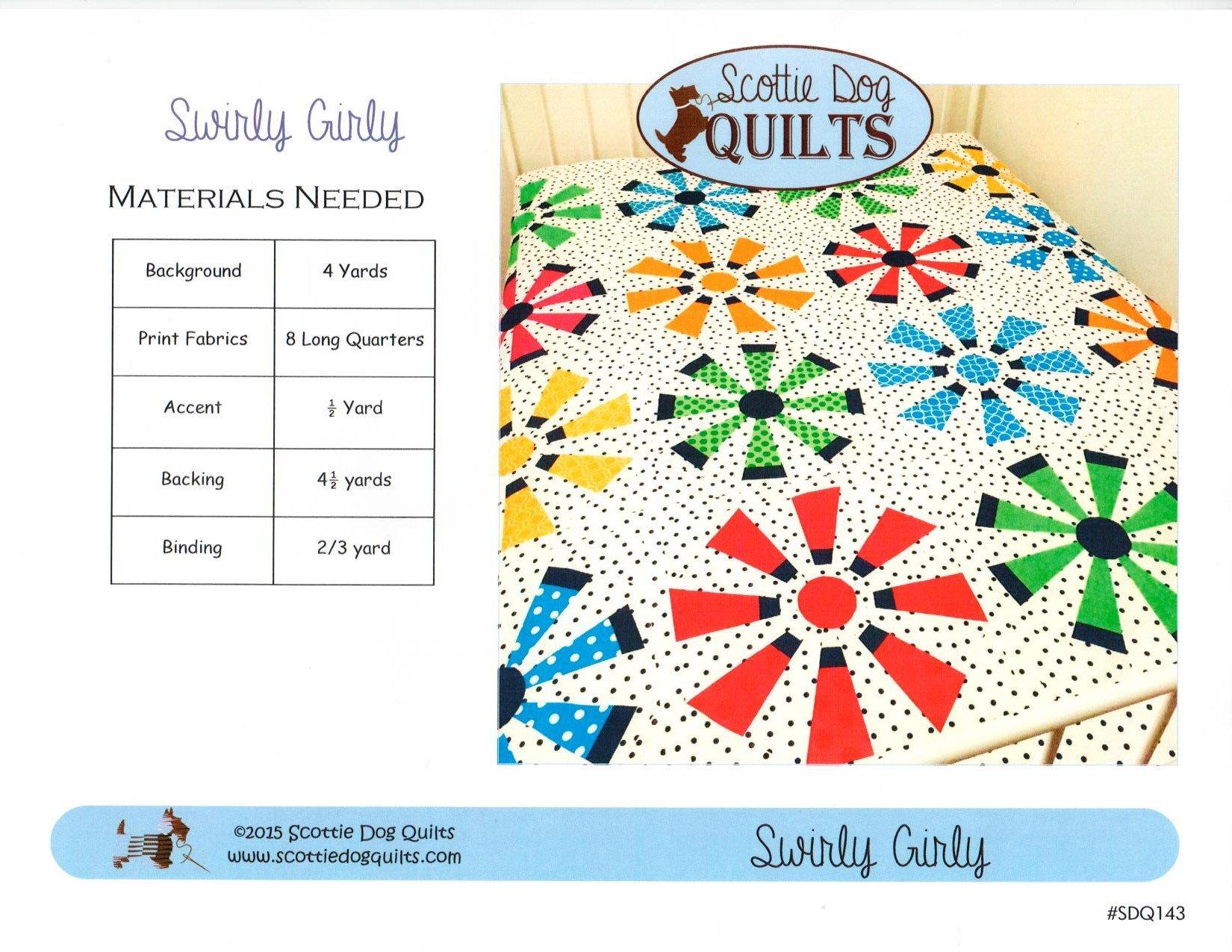 Swirly Girly Quilt Pattern + Dresden Ruler