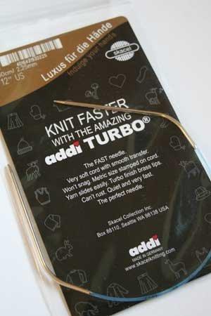 Addi Turbo 12 Circular Knitting Needles