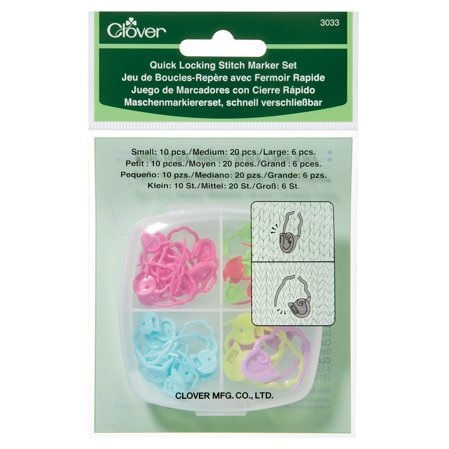 Clover Quick Lock Mark Sets