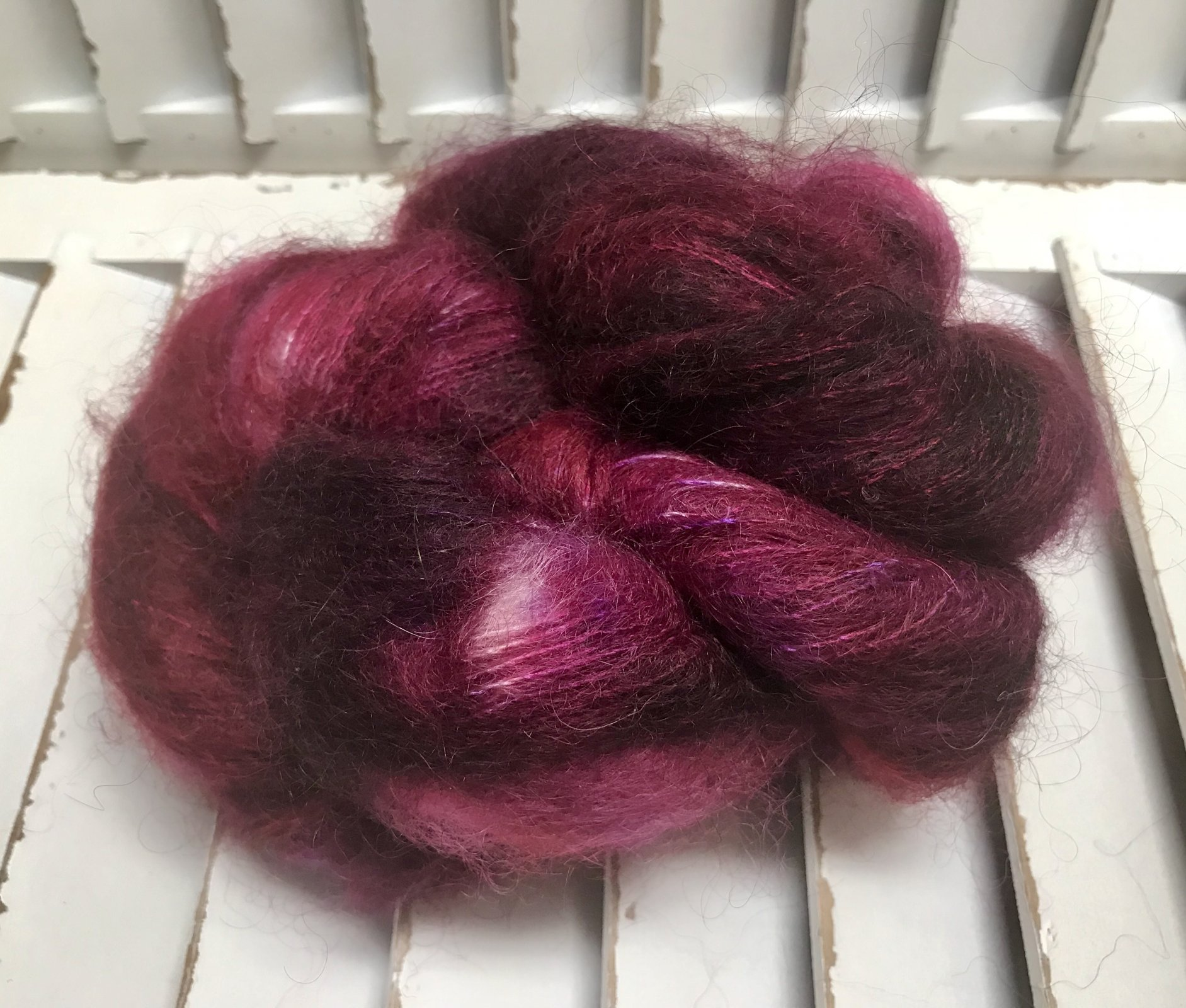Knitted Wit Fairy Floss Yarn