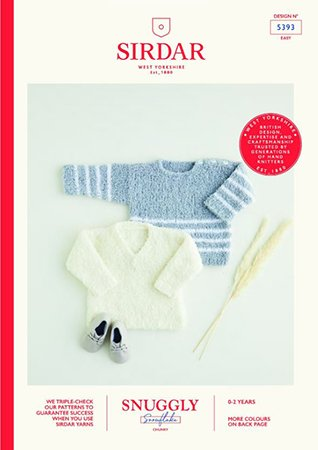 Sirdar Snuggly Snowflake Chunky Pattern Collection
