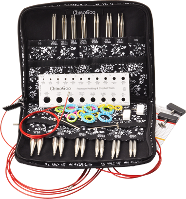 ChiaoGoo Red Lace Interchangeable Knitting Needle & Crochet Sets