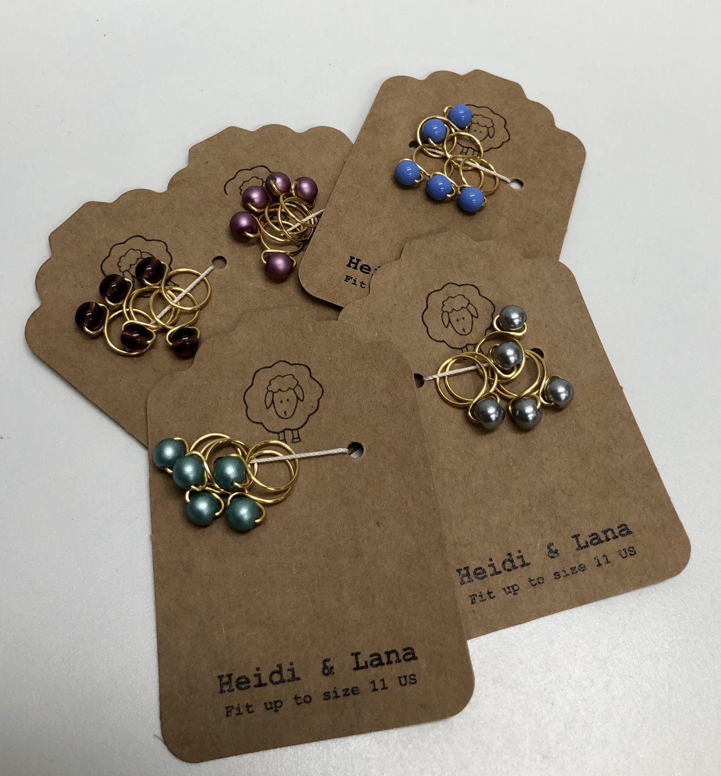 Heidi & Lana Stitch Markers