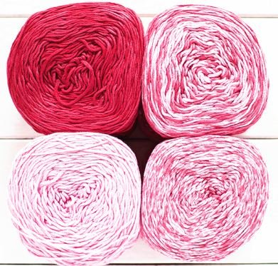 Feza 4 Shades Gradient Yarn Kits