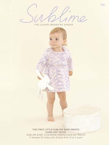 Sublime 712 The First Little Sublime Baby Prints Hand Knit Book
