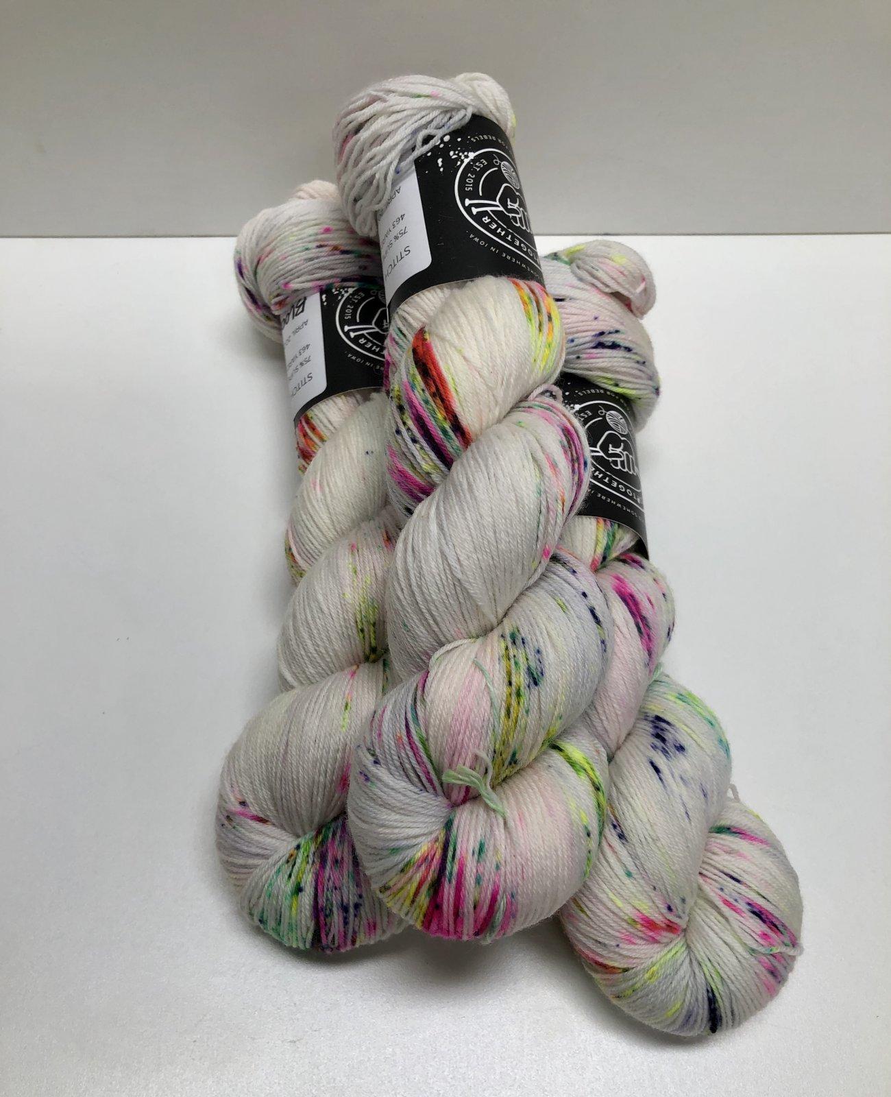 Stitch Together Smooth Sock Yarn