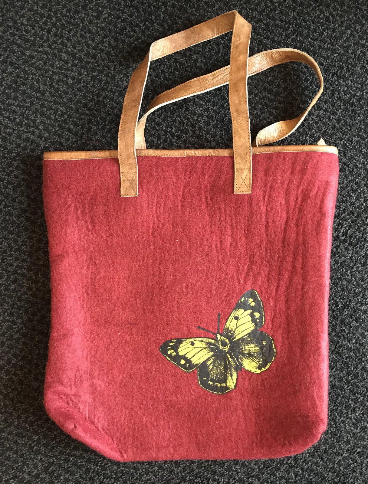 Fibres of Life Plain Felt Big Life Tote Bags