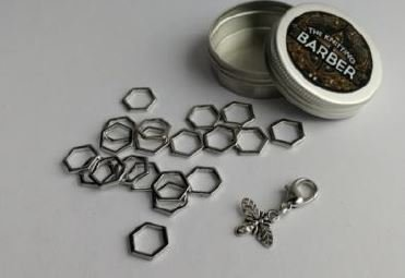 Stitch Markers by The Knitting Barber
