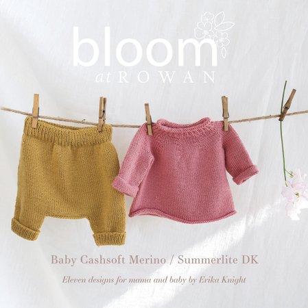 Rowan Bloom Book 2 - Cashsoft Merino & Summerlite DK by Erika Knight