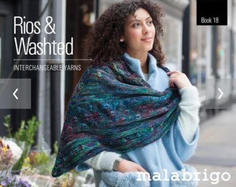 Malabrigo Book 18: Rios & Washted - Interchangeable Yarns