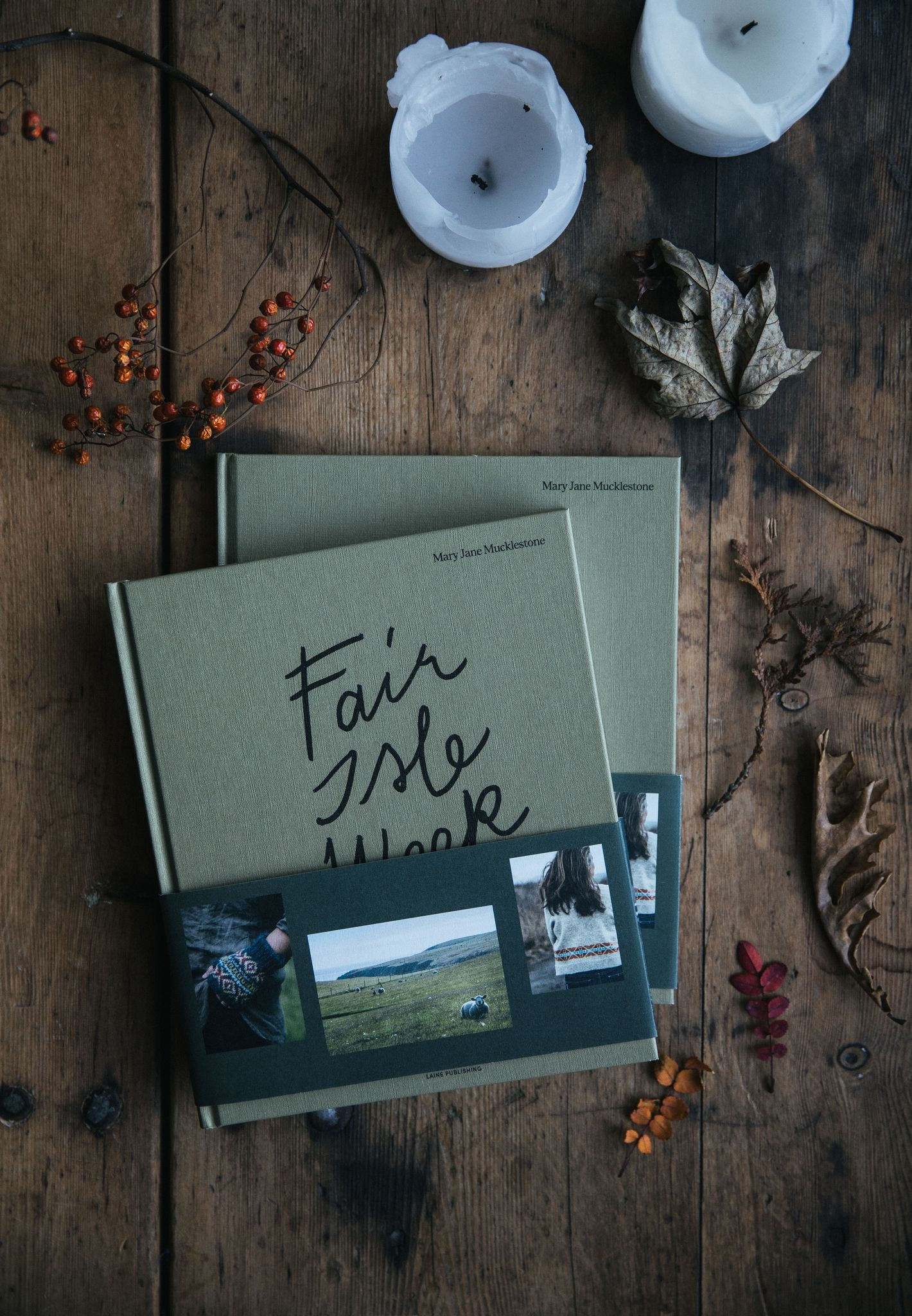 Fair Isle Weekend Book by Mary Jane Mucklestone