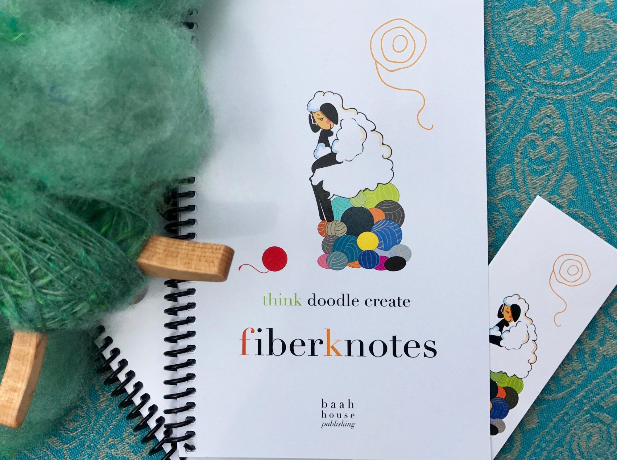 Think Doodle Create FIberknotes Note Book