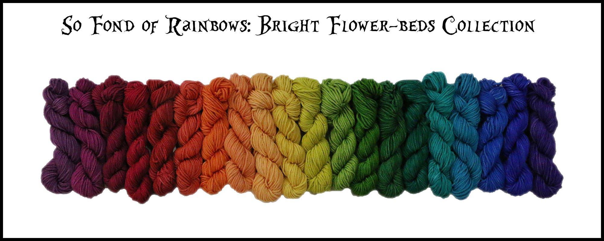 Frabjous Fibers So Fond of Rainbows Yarn /March Hare